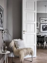 an airy and bright scandinavian apartment in grey u0026 black