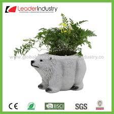 china design polyresin duck flower pots garden statue for