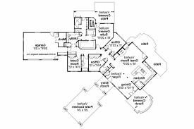 house floor plans with porte cochere