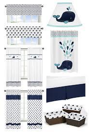 Fish Crib Bedding by Blue Whale Fish Crib Bedding 9pc Baby Nursery Set Navy Turquoise