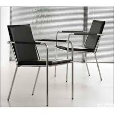 fauteuil bureau sans roulettes chaise de bureau en cuir noir sans vivo et chaises de