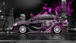 mitsubishi pink 4k mitsubishi lancer evolution x jdm side anime city car 2015