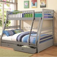 Bunk Bed Tidy Coaster 460182 Gray Bunk Bed
