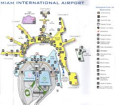 Ohare Airport Map Miami International Airport Miami United States Nationalextras Com