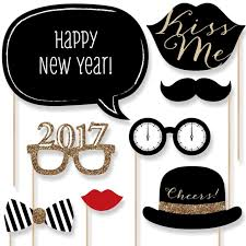Diy New Year Decorations 2016 by Aliexpress Com Buy Set Of 20 Happy New Year 2017 Photo Booth