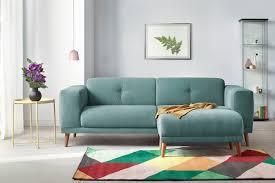 canapé avec pouf bobochic canapé avec pouf style scandinave gris clair