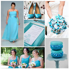 aquamarine wedding summer wedding colour palettes weddingbells