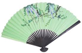 silk fan how to display a silk fan with a stand hunker