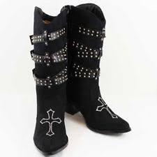 womens black cowboy boots size 9 womens cowboy boots cross ebay