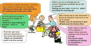 d馗rire sa chambre en anglais dialogue tâches ménagères housework anglais