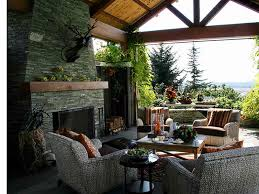 covered patio with fireplace covered patio with fireplace landscaping gardening backyard