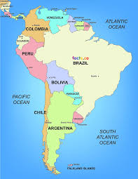 south america map bolivia peru in south america map