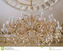 Crystal Chandelier Crystal Chandelier Stock Photos Image 35254453