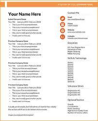 word resume templates resume template microsoft word jpg
