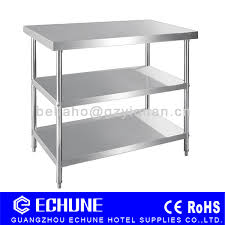 stainless steel corner work table stainless steel corner worktable with backsplash and under shelf