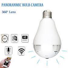 security light with camera wireless newest 1 3mp 360 degree wifi camera wireless ip camera bulb l