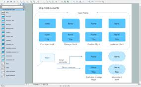 template organizational chart organizational chart template free