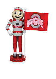 santa u0027s workshop 12 in ohio state buckeyes nutcracker belk