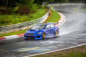 green subaru wrx breaking records at the u0027ring subaru steps it up with a wrx sti