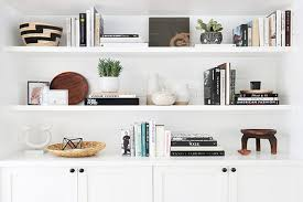 how to style a bookcase how to style a bookshelf hunker