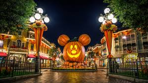 happy halloween pumpkin wallpaper happy halloween from disneyland widescreen wallpaper wide