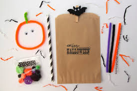halloween goody bags simple halloween party decor ideas smashed peas u0026 carrots