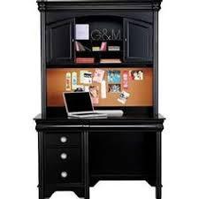 Black Desk With Hutch Decorating Interesting Corner Desk With Hutch For Modern Home