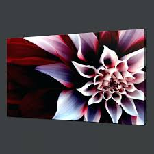 wall ideas red floral tree framed canvas wall art red buddha