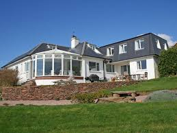seaview luxury devon holiday house by the beach with stunning