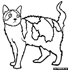 Cats Online Coloring Pages Page 1 Cat Coloring Pages