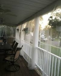 Mosquito Netting Curtains Front Porch Mosquito Netting Curtains And Lanterns Backyard