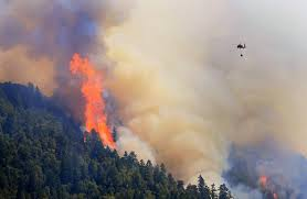 Wildfire Cali by Lightning Strikes Threaten To Worsen Northern California Wildfire