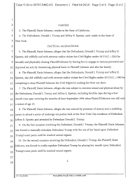 Lawsuit The New Lawsuit That Could End Donald Trump U0027s Presidential Campaign