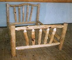 Free Diy Log Furniture Plans by Best 25 Log Bed Ideas On Pinterest Log Bed Frame Timber Bed