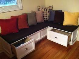 bench seat with storage diy benches window bench seat with storage