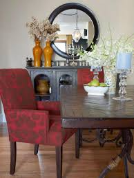 bold dining room pattern combinations hgtv