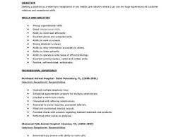 Veterinary Resume Templates Laura M Wurst Professional Goals My Goals Include Obtaining A Job