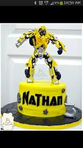 transformers bumblebee and optimus party cake topper transformer cake i made for my nephew my cake creations