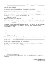 food inc movie worksheet free worksheets library download and