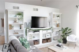 Living Room Built In Living 10 Ways To Diy Your Own Built In Shelves
