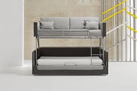canapé lit superposé canapé lit superposé coupé modulance