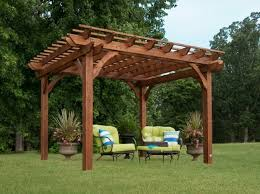 10 X 10 Pergola by Leisure Time Products Pergola Pergola Gazebo Ideas