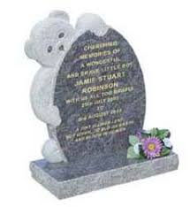 tombstones for baby child memorials headstone grave marker monument