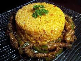 cuisiner le boulgour recette de boulgour a la turque avec aiguilette de biftek poivron