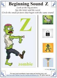 letter z worksheets alphabet lessons