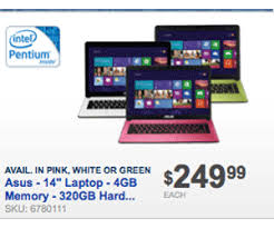 black friday sale laptops buy black friday 2012 249 asus laptop is on sale now online