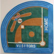 Baseball Area Rug Baseball Field Rug 5 Baseball 5 X 5 Free Shipping