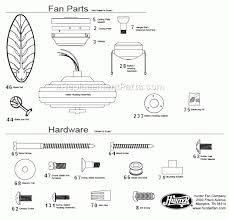 hunter ceiling fans replacement parts 4170 astonbkk com