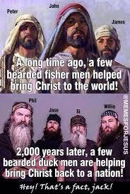 Duck Dynasty Memes - so i don t really like duck dynasty but i do love how they keep god