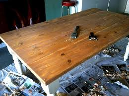How To Strip Down Your Dining Table For A Special Occasion  HomeJelly - Sanding kitchen table